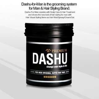 Dashu Matte Hair Wax