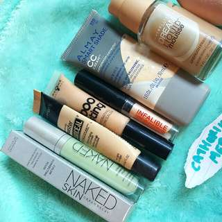 Foundations/Concealers