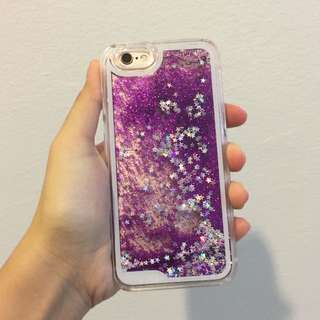 Glittery Hard Case for iphone