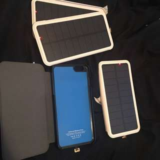 iPhone 6s/7s Solar Charging Case