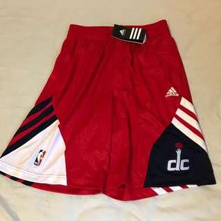 Adidas NBA Washington Wizards Team Basketball Shorts S