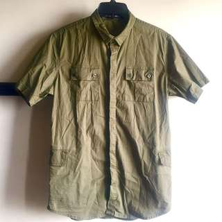 FOLDED & HUNG Military Shirt