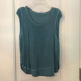 Teal Wilfred Tank Top REDUCED