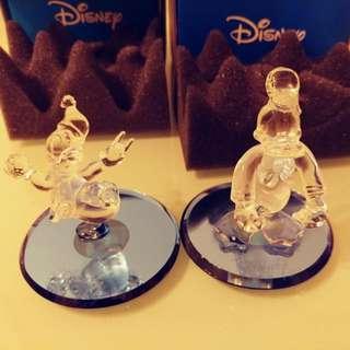 Donald Duck 唐老鴨 Disney 廸士尼玻璃水晶
