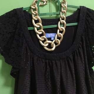 Black Formal Jersey Clothe Dress