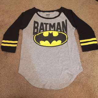 Batman Raglan Women's Shirt (Medium)