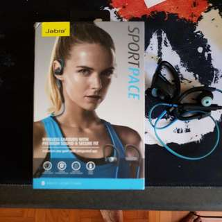 jabra sport pace Bluetooth ear phones