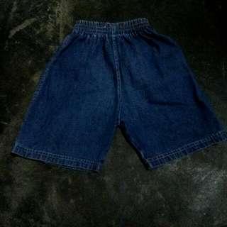 Celana Pendek Jeans Anak