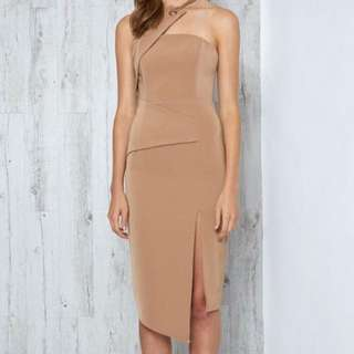 VISION DRESS TAN BY PREMONITION THE LABEL