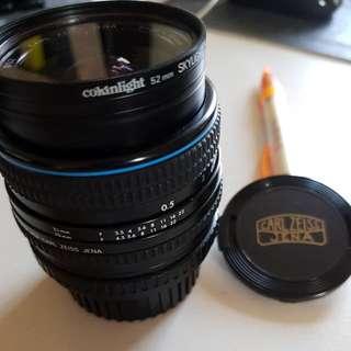 Lens For Carl Zeiss Jena  Zena mount Vintage Film Camera