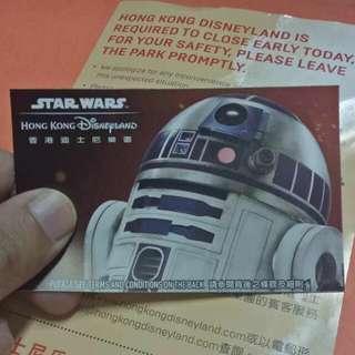 Hongkong Disneyland Ticket