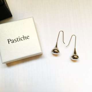 Pastiche teardrop earrings