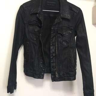 賤賣~🇬🇧英國專櫃品牌Allsaints騎士牛仔外套