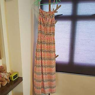 Brand New With Tag Spag Strap Maxi Dress