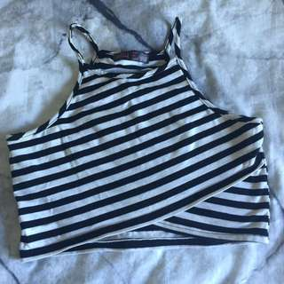Comfiest Stripe Crop Top