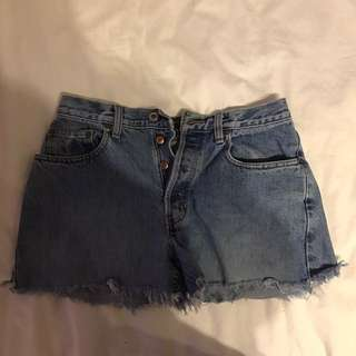 High Waisted Size M Vintage Shorts