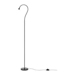 IKEA 宜家落地燈(黑)