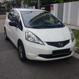 Fuel Economical Honda FIT 1.3A For Grabcar UBER Rental