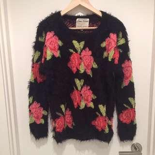 Super Soft Flower Sweater