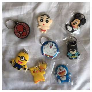 Various Keychains