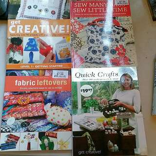 Quilting/sewing Books