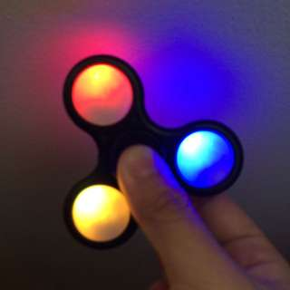 LED Light up fidget Spinners