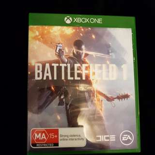 Battlefield 1 For Xbox1
