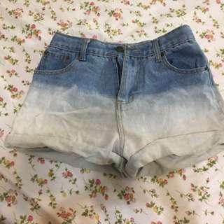 漸層短褲 M號
