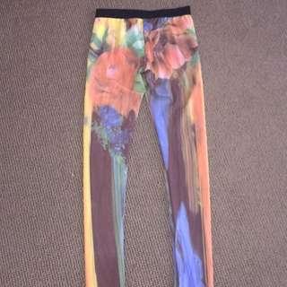 Bardot Junior Girls Silk Flower Leggings