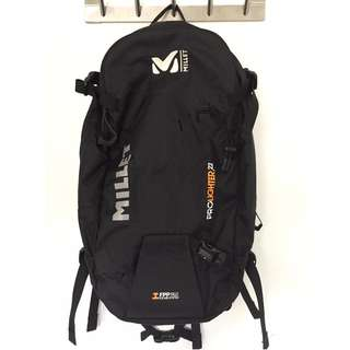 Millet Prolighter 22 backpack BLACK