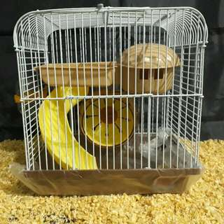 Kandang Hamster 157 2 Lantai