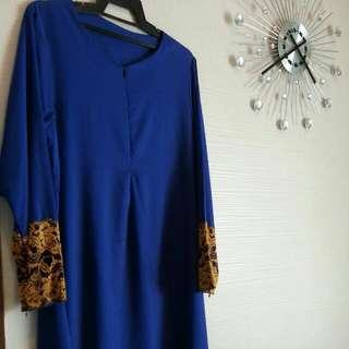 Jubah Royal Blue