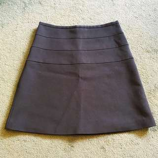 Zara size small navy skirt