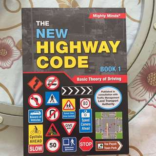 The New Highway Code/Basic theory of driving Book 1 (BTT Book 1)