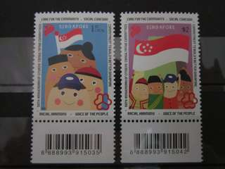 Singapore Stamps 2015 People's Association MNH