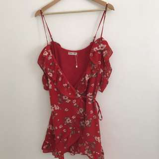 Red Size 10 Dress