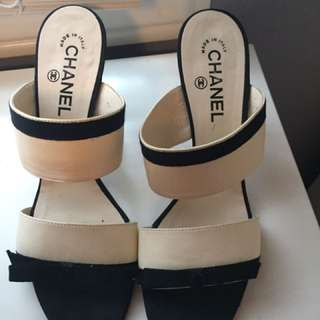 Authentic Chanel Shoes Size 9