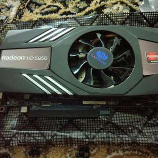 HD 5850 Graphics Card (Sapphire Brand)
