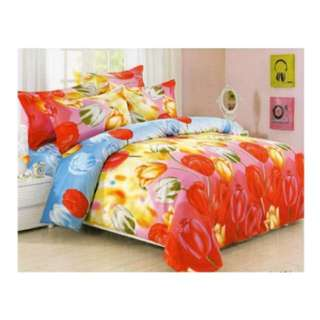 Bed Time 3 PCs Bed Sheet