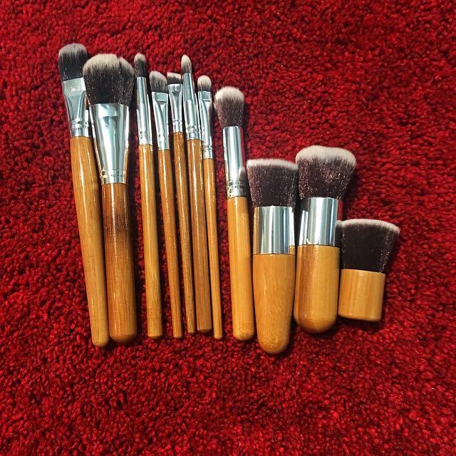 11 brushes