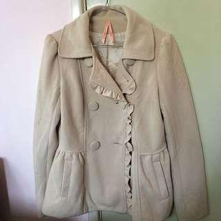 Women's Cream Coat