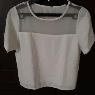Baju / Blouse White (putih)