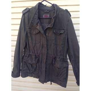 LEVIS Khaki parker jacket