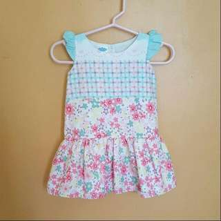 Crib Couture Floral Dress