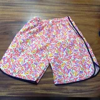 Flower hot pants