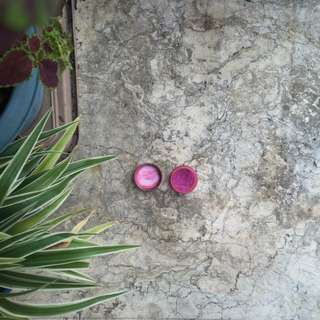 Fuchsia Pink Glittery Eyeshadow From Italy 🌸