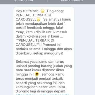 thanks carosell