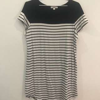 Striped T-Dress