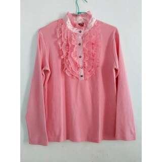 Baju Pink Size L