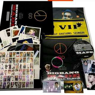 BIGBANG PHOTOBOOK W/FREEBIES